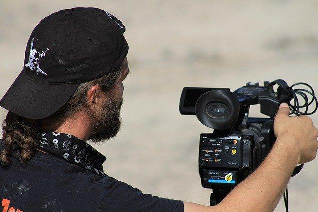 映画監督の写真